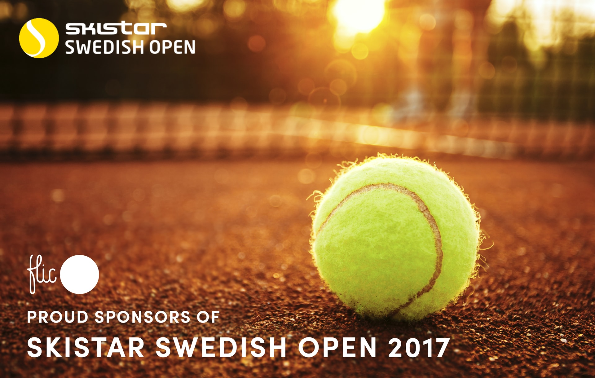 Flic - sponsors of Swedish Open